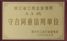 2006守合同重信用单位