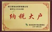2010纳税大户
